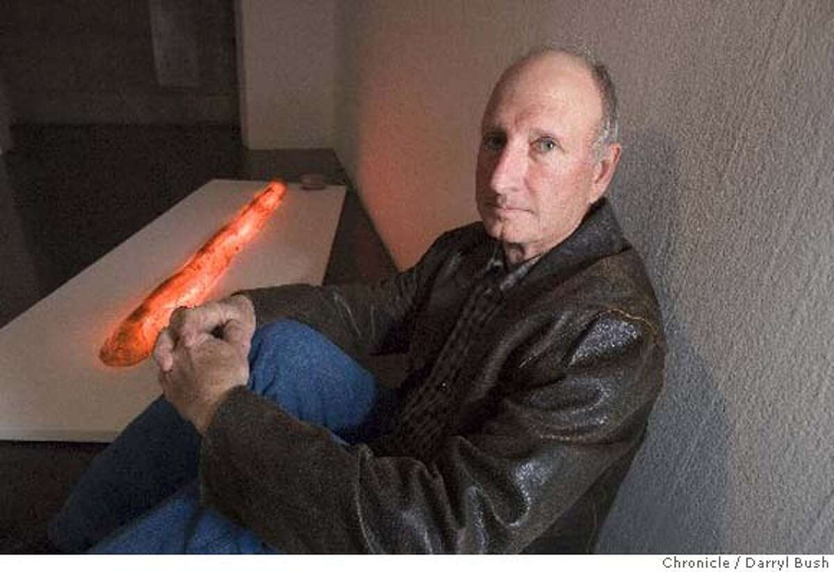 Bruce Nauman's work from the 1960s was featured at the Berkeley Art Museum this year. Chronicle photo by Darryl Bush