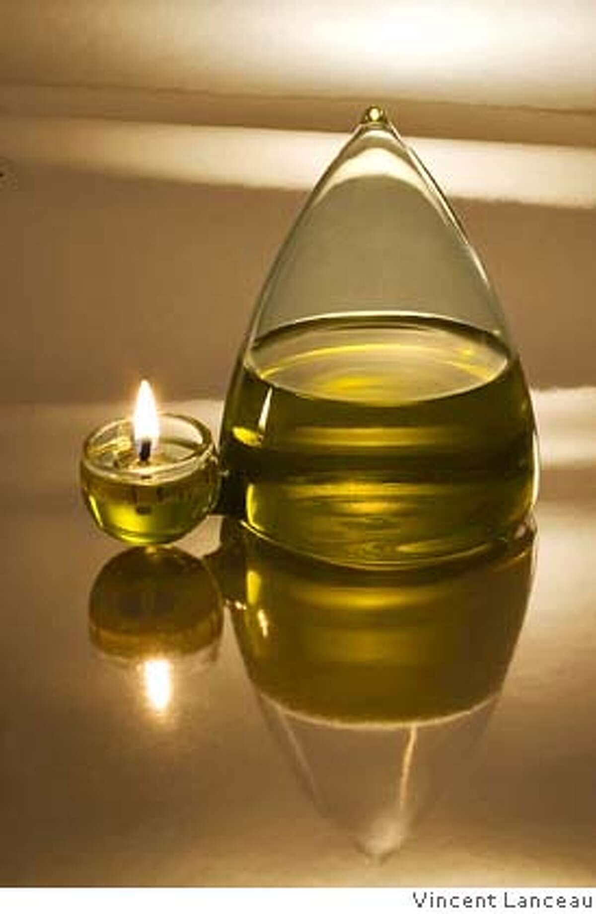 . It's a handout jpeg of an olive oil-burning lamp by Oliviers and Co.