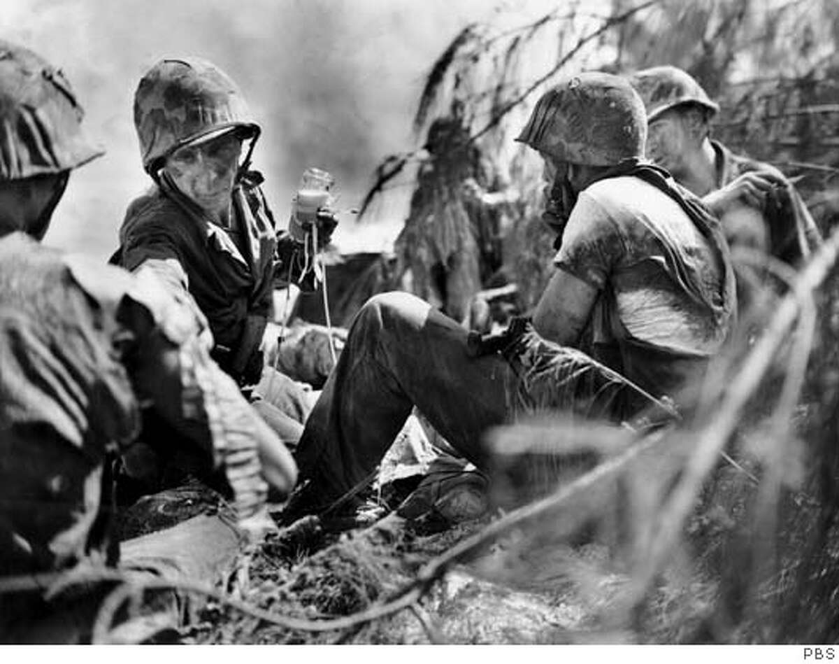 THE WAR Saipan Ran on: 09-19-2007 Ken Burns never got around to recording his fathers wartime memories, and his failure to do so became a kind of goad to get it right with the subjects of his new series.