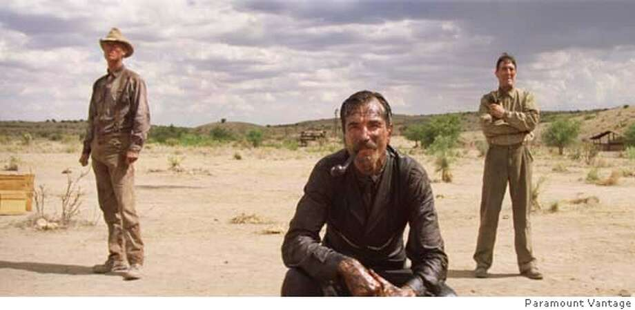 Daniel Day-Lewis as �Daniel Plainview� stars in Paul Thomas Anderson�s �There Will Be Blood�. Photo by Paramount Vantage Photo: Paramount Vantage