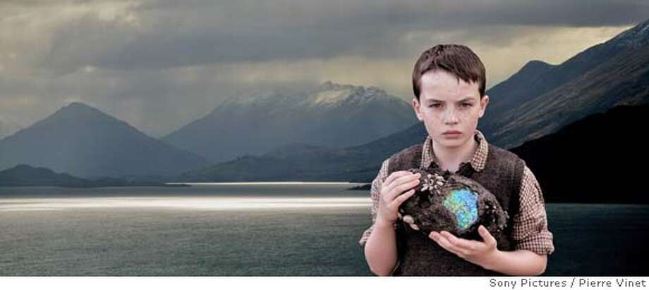 "Revolution Studios', Walden Media's, and Beacon Pictures' The Water Horse: Legend of the Deep is the story of a young boy who brings home a magical egg -- and soon finds himself raising an amazing creature: the mythical ""water horse"" of Scottish lore. ALEX ETEL stars as Angus MacMorrow. Photo: Pierre Vinet"