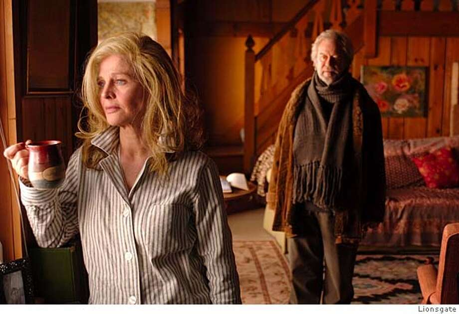 """**FILE** In this file photo originally provided by Lionsgate, Julie Christie is shown in a scene from """"Away From Her,"""" about a woman stricken with Alzheimer's, with Gordon Pinsent. (AP Photo/Lionsgate Films, Michael Gibson, FILE)"""