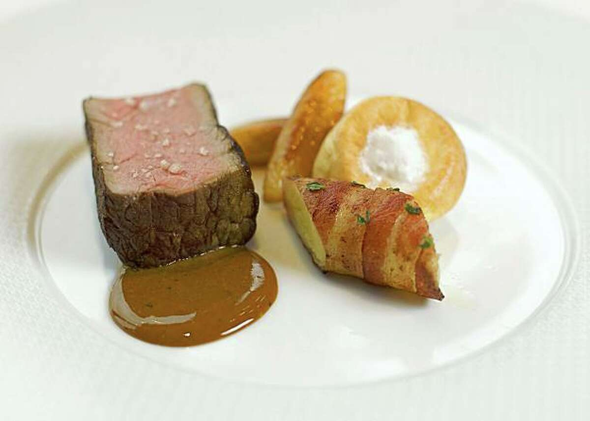Thomas Keller, The French Laundry Herb-Roasted Sirloin of Beef with Beurre Colbert