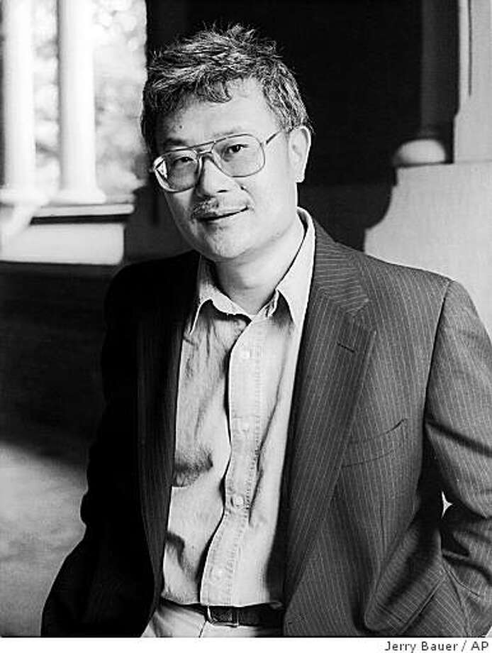 This photo released by Pantheon Books shows author Ha Jin.(AP Photo/Pantheon Books)  Ran on: 11-14-2007  Award-winning author Ha Jin says he wanted his first book that wasn't about China to be a real American novel.  Ran on: 11-14-2007  Award-winning author Ha Jin says he wanted his first book that wasn't about China to be a real American novel. Photo: Jerry Bauer, AP