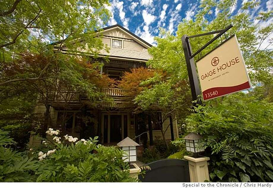 TRAVEL GLEN ELLEN -- The Gaige House hotel. OK FOR ALL USES Photo: Chris Hardy