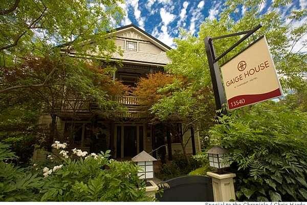TRAVEL GLEN ELLEN -- The Gaige House hotel. OK FOR ALL USES