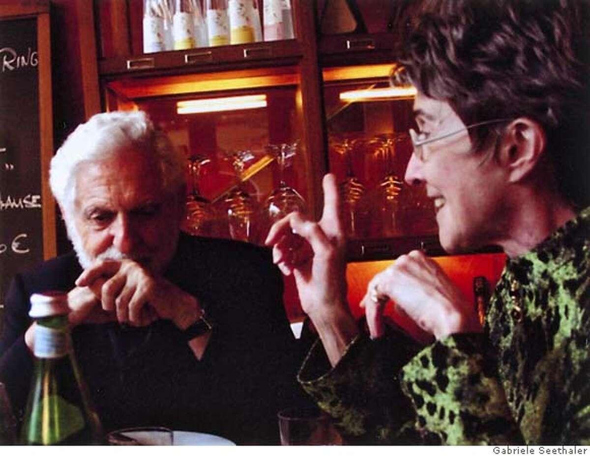 Carl Djerassi and Diane Middlebrook CR: Gabriele Seethaler