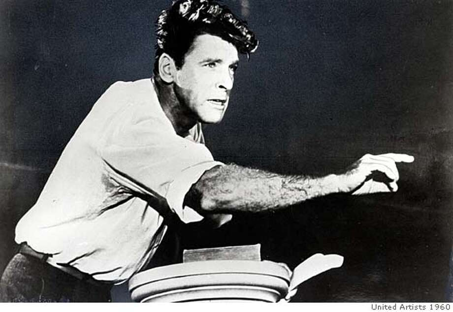 Burt Lancaster in ELMER GANTRY  Ran on: 11-11-2007  Burt Lancaster in &quo;Elmer Gantry&quo;: He was an original. Photo: HANDOUT