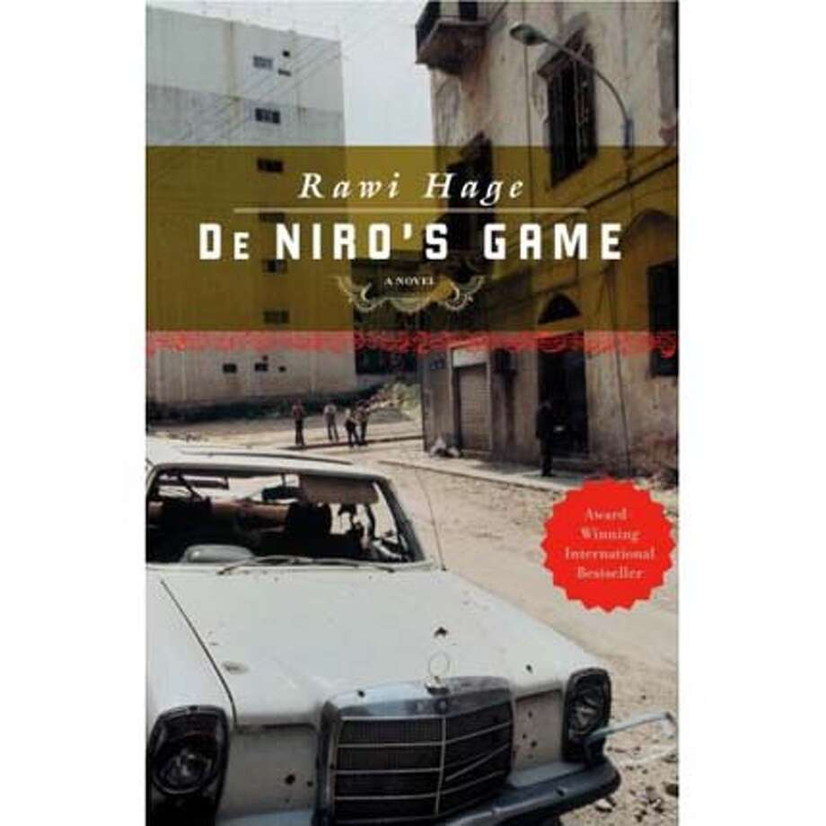 "Book cover: ""De Niro's Game"""