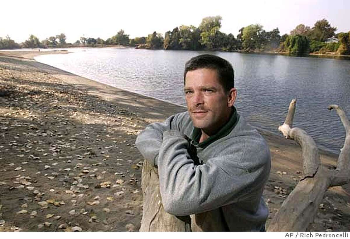 Gary Ross is seen at Discovery Park in Sacramento, Calif., Tuesday, October 30, 2007. The California Supreme Court on Tuesday is scheduled to hear Ross' plea that he and others using medical marijuana receive the same workplace protection from discipline that employees with valid painkiller prescriptions do. (AP Photo/Rich Pedroncelli)