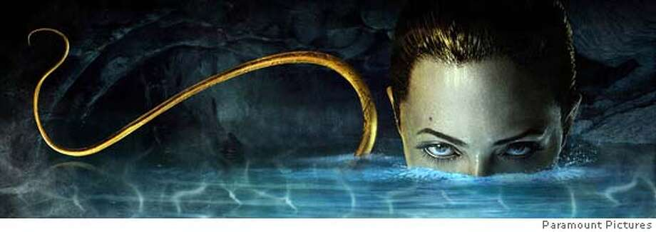 "Actress Angelina Jolie is pictured in a scene from the new film ""Beowulf"" in this undated publicity photograph. The film, directed by Robert Zemeckis utilizing a hybrid between animation and live action, is based on the Old English poem ""Beowulf"" that has long been required reading in high school English classes. REUTERS/Paramount Studios/Handout (UNITED STATES). EDITORIAL USE ONLY. NOT FOR SALE FOR MARKETING OR ADVERTISING CAMPAIGNS. NO ARCHIVES. NO SALES. Photo: HO"
