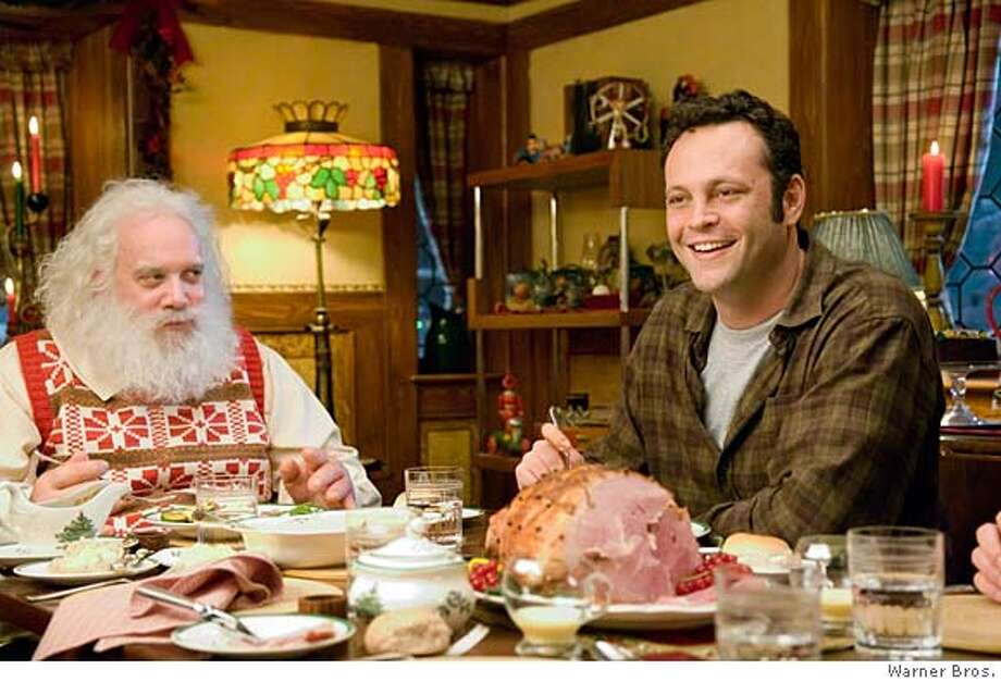 """Fred Claus"" -- It's like ""Bad Santa"" with Vince Vaughn and without the humor. Photo: Jaap Buitendjik"