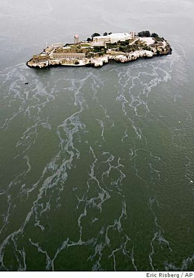 Alcatraz Island on San Francisco Bay in San Francisco Photo: Eric Risberg, AP