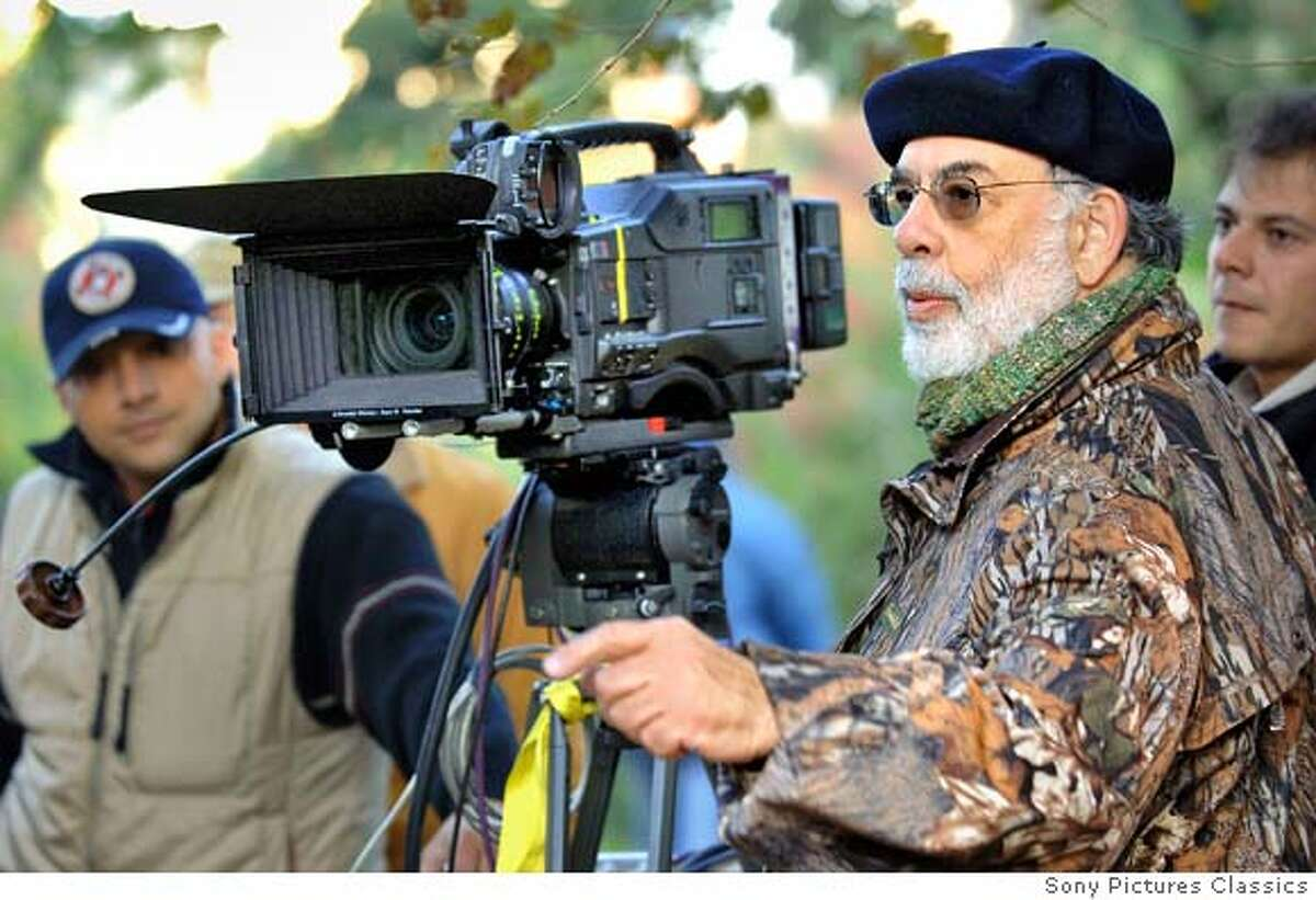 Francis Ford Coppola on set of Youth Without Youth Photo by Cos Aelenei. � 2006 American Zoetrope INC, courtesy Sony Pictures Classics. �All Rights Reserved.