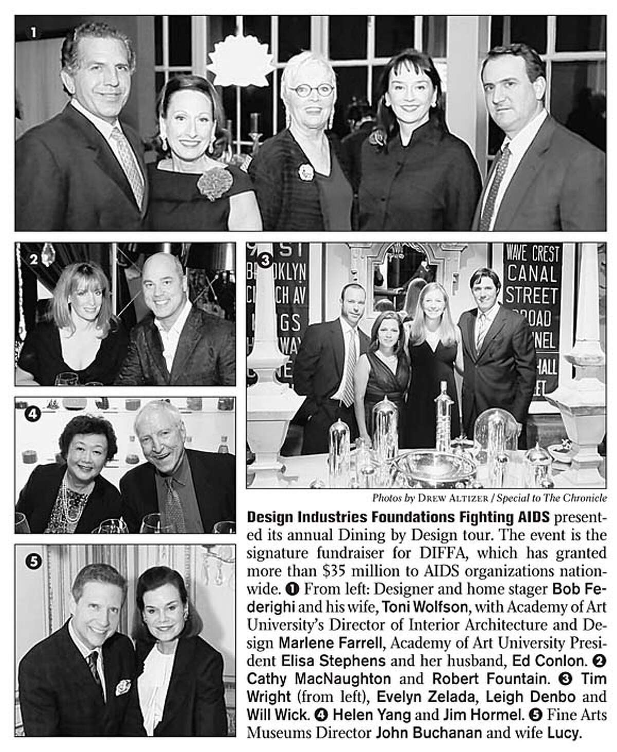 Design Industries Foundations Fighting AIDS presented its annual Dining by Design tour. The event is the signature fundraiser for DIFFA, which has granted more than $35 million to AIDS organizations nationwide. Photos by Drew Altizer, special to the Chronicle