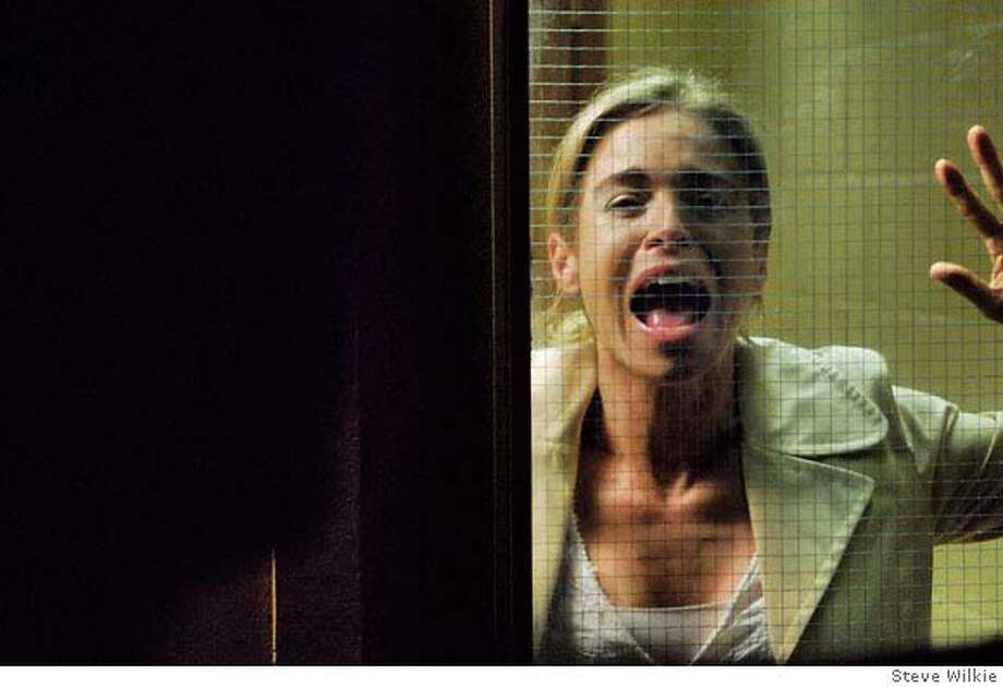 Betsy Russell (as Jill) in SAW IV. Photo credit: Steve Wilkie  Ran on: 10-29-2007  Betsy Russell plays Jill in &quo;Saw IV,&quo; the latest film in the Jigsaw Killer series. Photo: Ho