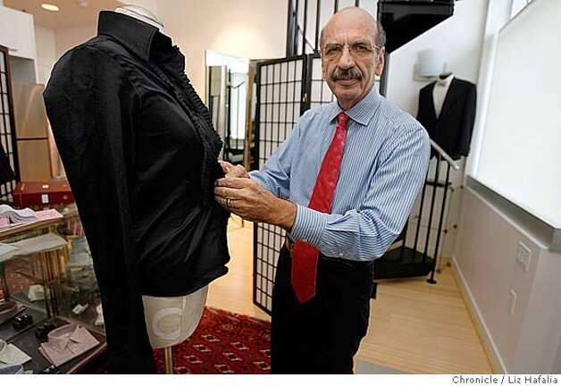 Tailors find women eager for bespoke suits and shirts sfgate for Bespoke shirts san francisco