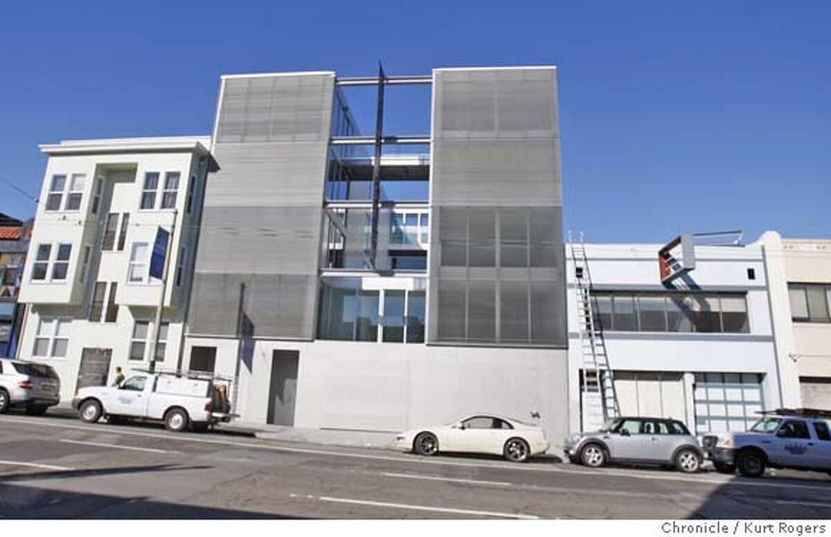 A new building at 1234 Howard St its housing but doesn't look like it. PLACE20_0010_KR.jpg Kurt Rogers / The Chronicle Photo taken on 11/15/07, in San Francisco, CA, USA MANDATORY CREDIT FOR PHOTOG AND SAN FRANCISCO CHRONICLE/NO SALES-MAGS OUT