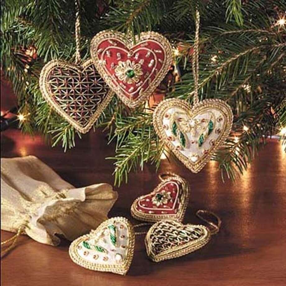 Christmas ornaments from India, $1 to $7, from Sudha Pennathur for Bread and Roses sales Photo: Handout