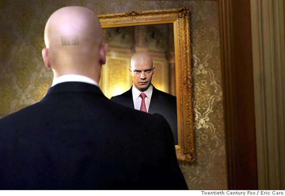 "Timothy Olyphant played assassin Agent 47 in the movie ""Hitman."" Photo: Eric Caro"