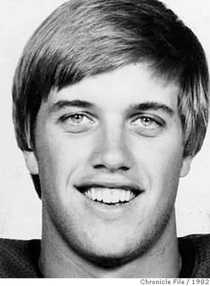 ELWAY-25 OCT82-HO  JOHN ELWAY, STANFORD UNIVERSITY QUARTERBACK AND 1982 HEISMAN TRPHY NOMINEE SCANNED Photo: Xx