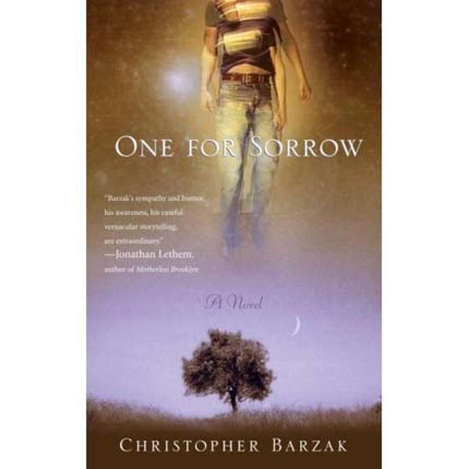 """Book cover: """"One for Sorrow"""""""