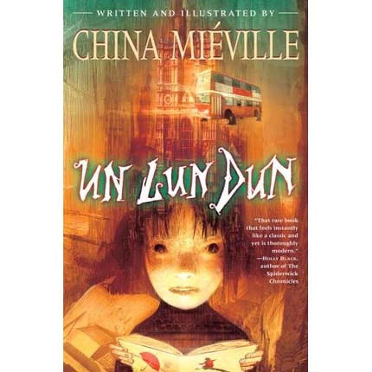 """Book cover: """"Un Lun Dun"""""""