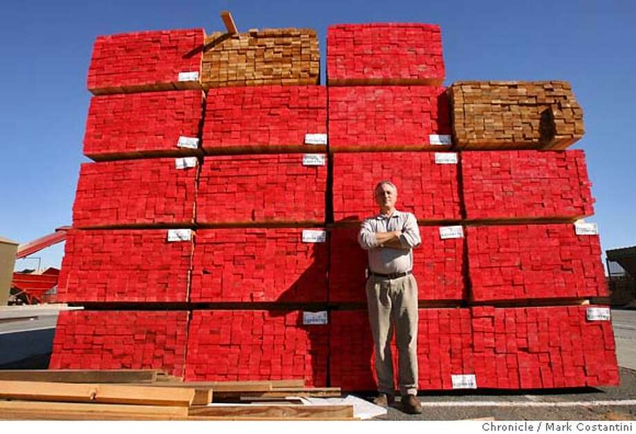 Kevin Cerkon of Compu-Tech Lumber, a Fairfield business person directly affected by housing crunch. Mark Costantini / The Chronicle Photo taken on 11/16/07, in FAIRFIELD, CA, USA MANDATORY CREDIT FOR PHOTOG AND SAN FRANCISCO CHRONICLE/NO SALES-MAGS OUT Photo: Mark Costantini