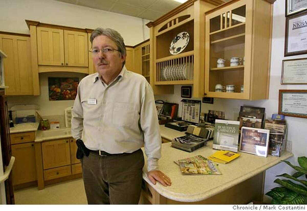 Stu Reid, of Kitchen Tune-up, a Fairfield business person directly affected by housing crunch. Mark Costantini / The Chronicle Photo taken on 11/16/07, in FAIRFIELD, CA, USA MANDATORY CREDIT FOR PHOTOG AND SAN FRANCISCO CHRONICLE/NO SALES-MAGS OUT
