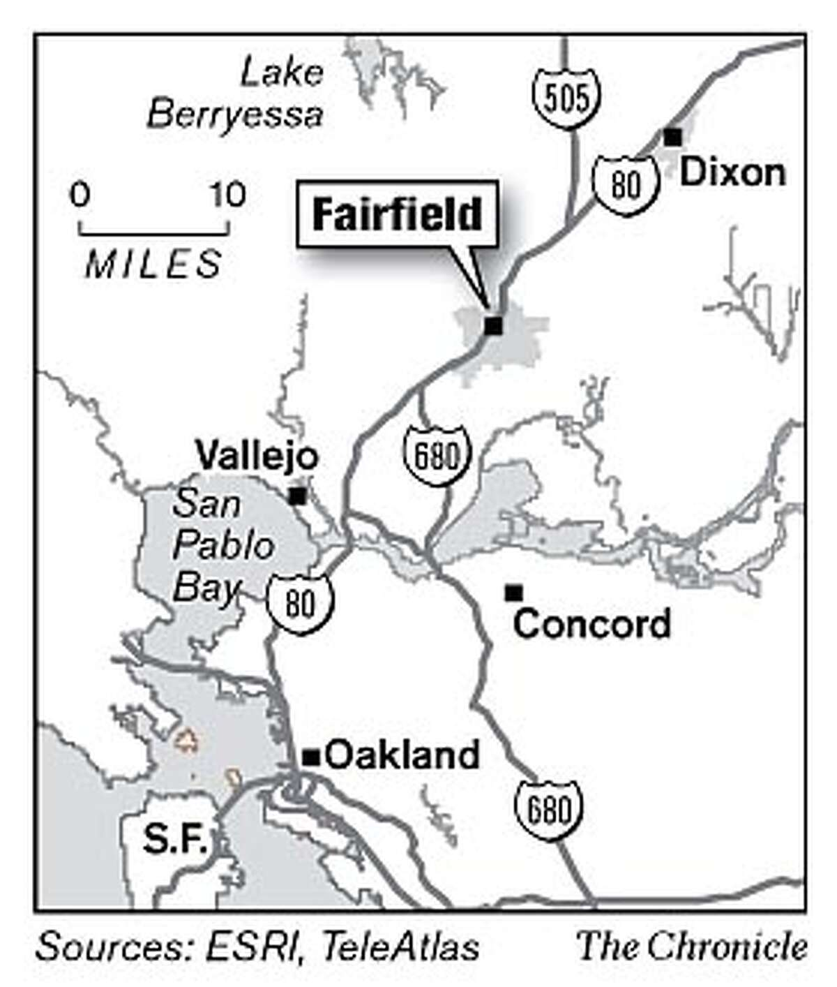 Fairfield. Chronicle Graphic
