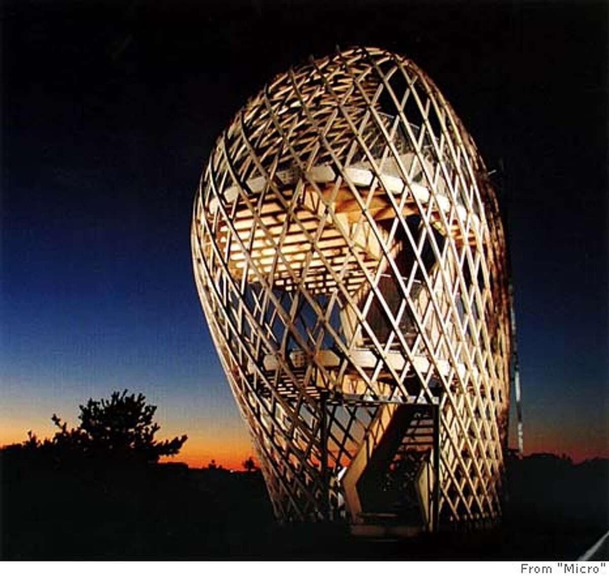 Lookout Tower, Korkeasaari Zoo, Helsinki, Finland by Ville Hara / Hut Wood Studio Workshop From
