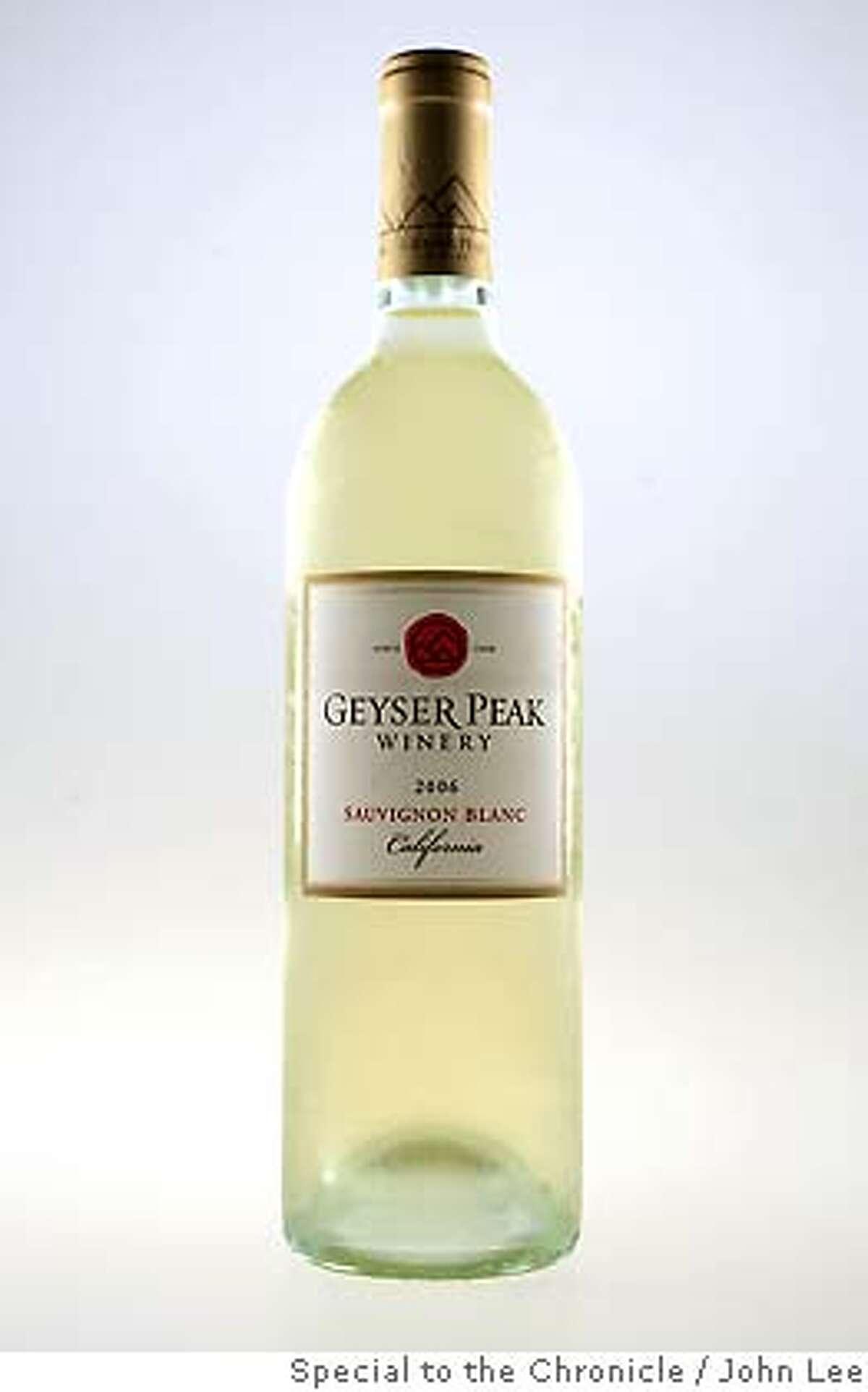 OYSTERGUIDE28_07_JOHNLEE.JPG Geyser peak 2006 Sauvignon Blanc. By JOHN LEE/