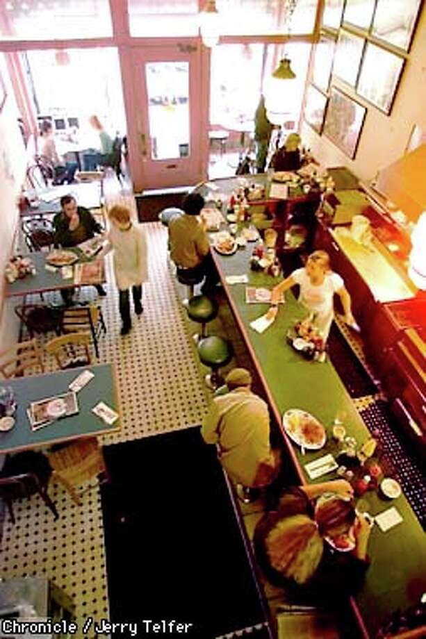 Diners at the Pork Store Cafe in the Haight-Ashbury cure hangovers and fill tummies with a variety of breakfast and lunch items that have one thing in common: huge portions. / CHRONICLE