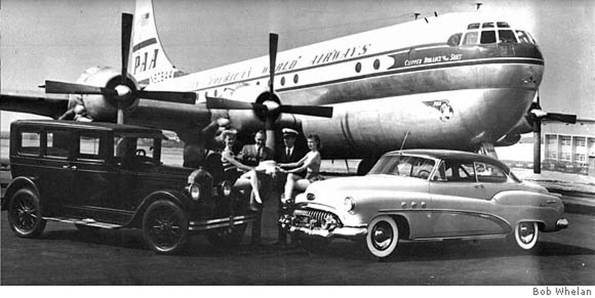 Undated Pan Am publicity photograph provided by Ken Fortenberry showing the 'Romance of the Skies.' Gregg Herken and Ken Fortenberry have been trying to find out the true cause behind the crash of the flight. Historian Gregg Herken says this image was credited to Bob Whelan. MANDATORY CREDIT FOR PHOTOG AND SAN FRANCISCO CHRONICLE/NO SALES-MAGS OUT