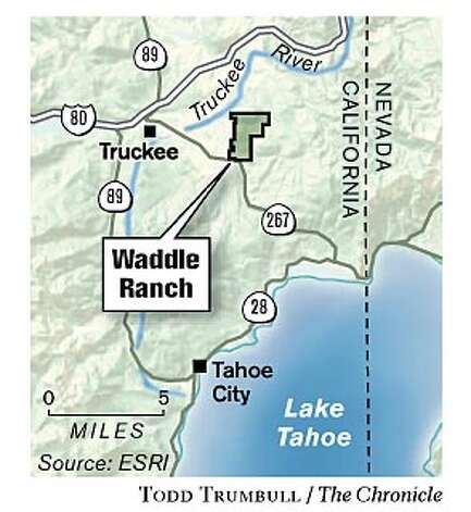 Waddle Ranch. Chronicle graphic by Todd Trumbull