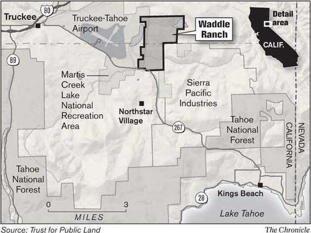 Waddle Ranch. Chronicle Graphic
