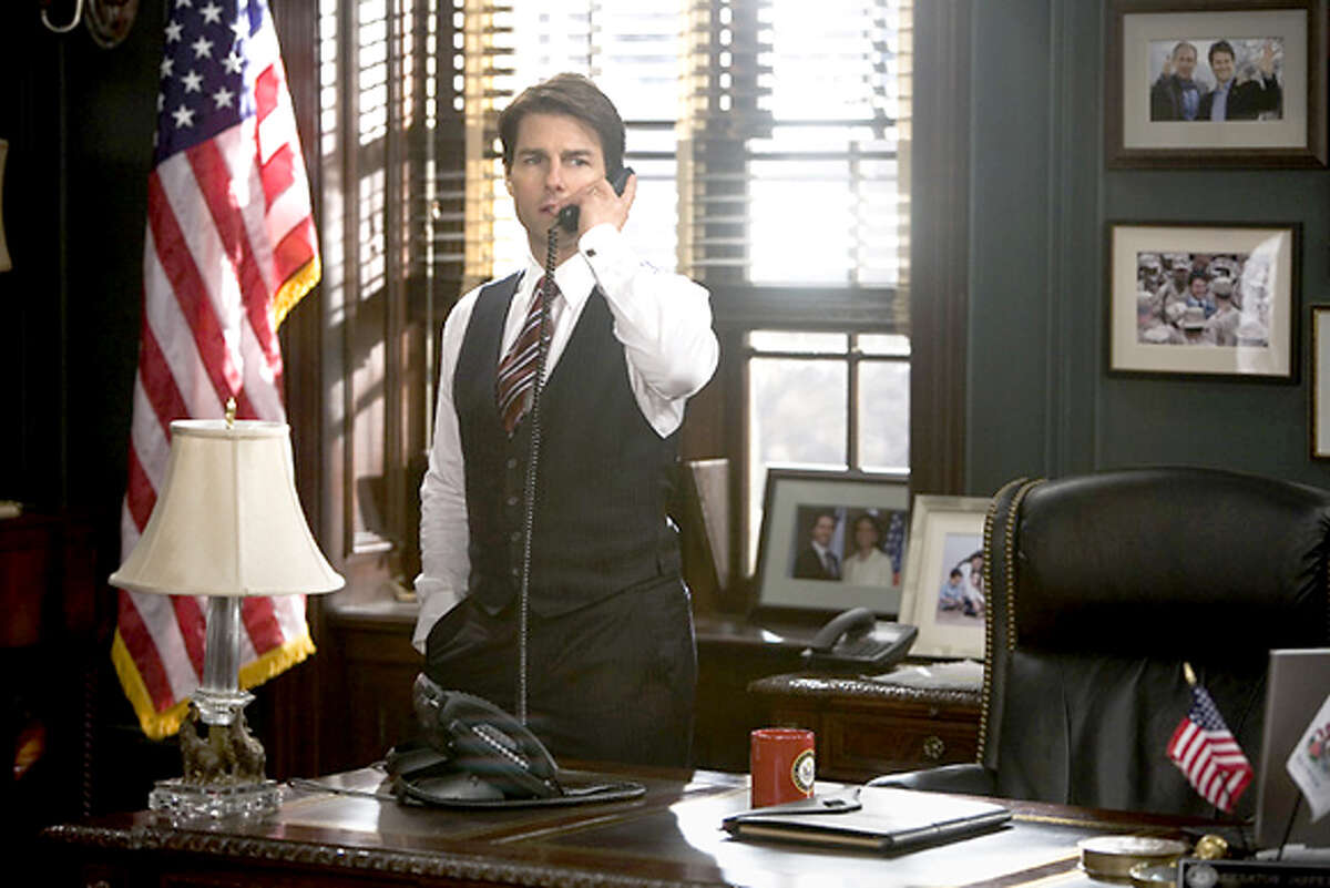 Tom Cruise as Senator Jasper Irving in the Robert Redfor film, Lions for Lambs. Ran on: 11-09-2007 Meryl Streep plays a TV journalist in Robert Redfords Lions for Lambs.
