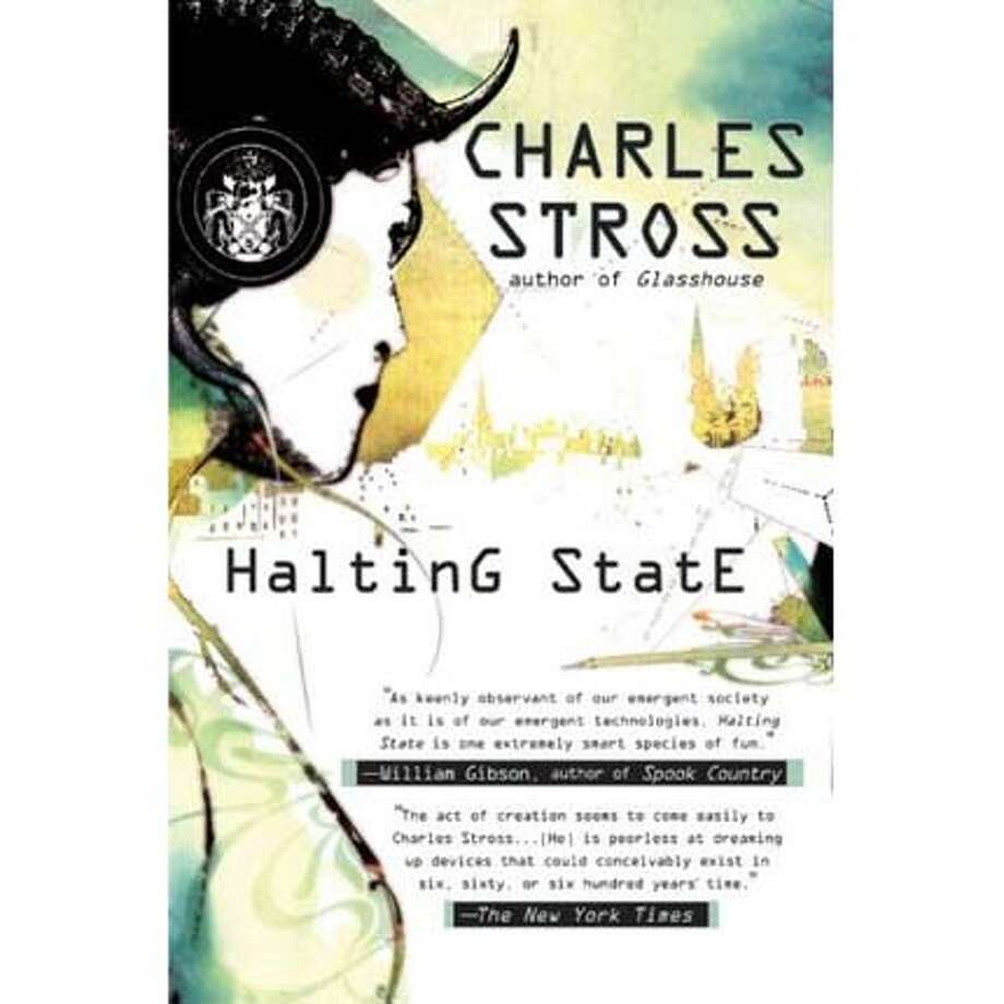 """Halting State"" by Charles Stross"