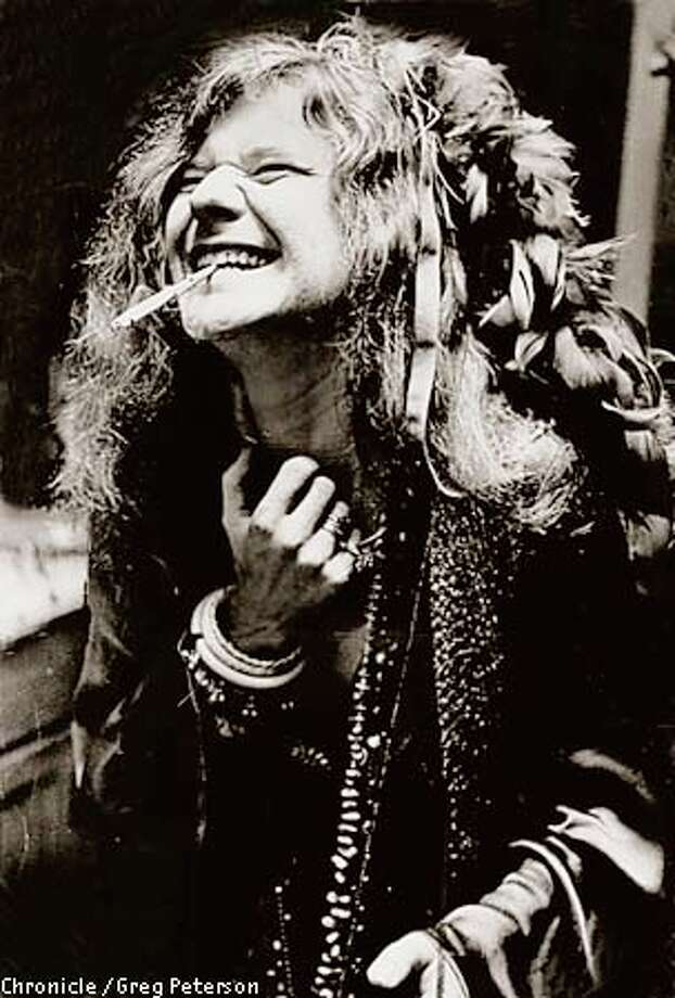 Janis Joplin was one of the rock musicians who emerged from the freewheeling, affordable lifestyle of '60s San Francisco. Chronicle file photo, 1970, by Greg Peterson