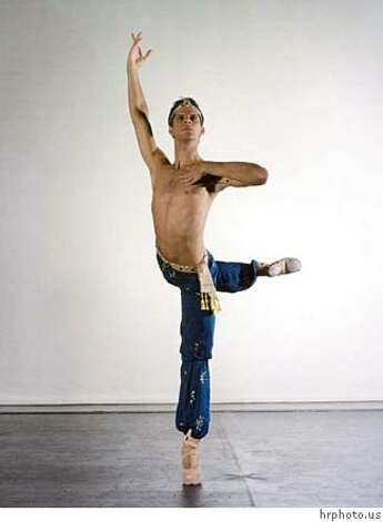 Marcelo Gomes of american Ballet Theatre  Ran on: 11-04-2007  Herman Cornejo, Sascha Radetsky and Jose Carreno of American Ballet Theatre perform &quo;Fancy Free,&quo; part of the company's program at Cal Performances. Photo: Hrphoto.us