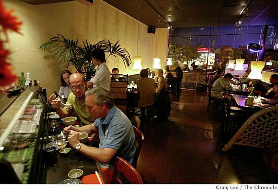 Nami Nami, a Izakaya style restaurant at 240 Castro Street in Mountain View. Photo: Craig Lee, The Chronicle