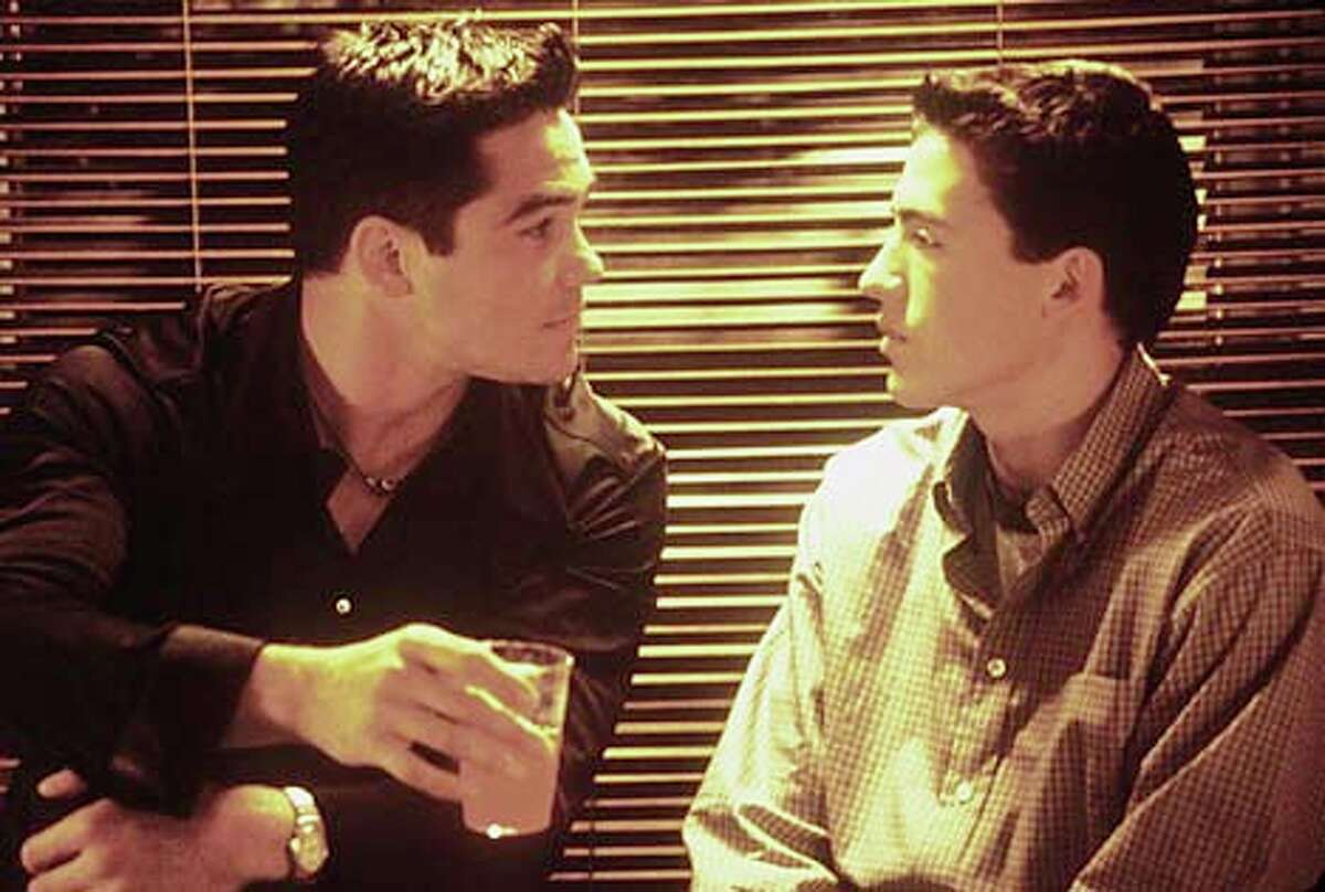 Dean Cain and Andrew Keegan play friends in