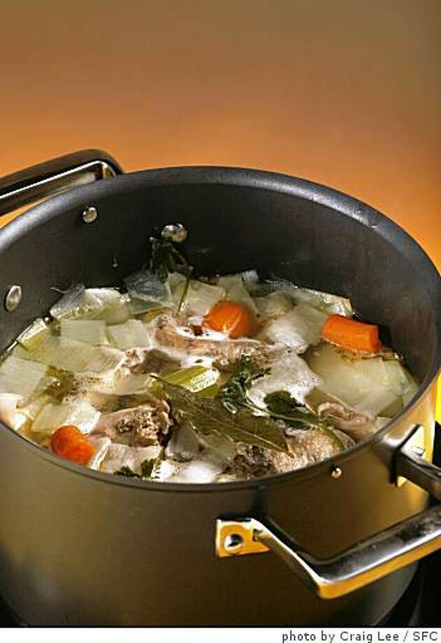 Soup stock Photo: Photo By Craig Lee, SFC