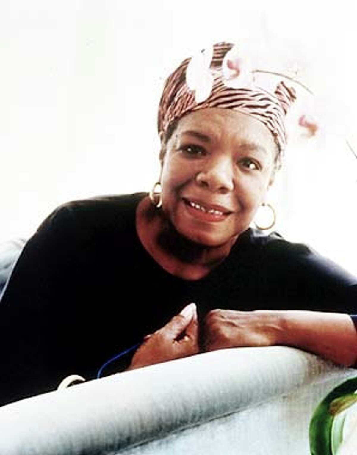Maya Angelou will be in San Francisco for the National Poetry Association. Publicity handout photo