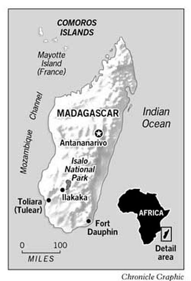 Madagascar. Chronicle Graphic