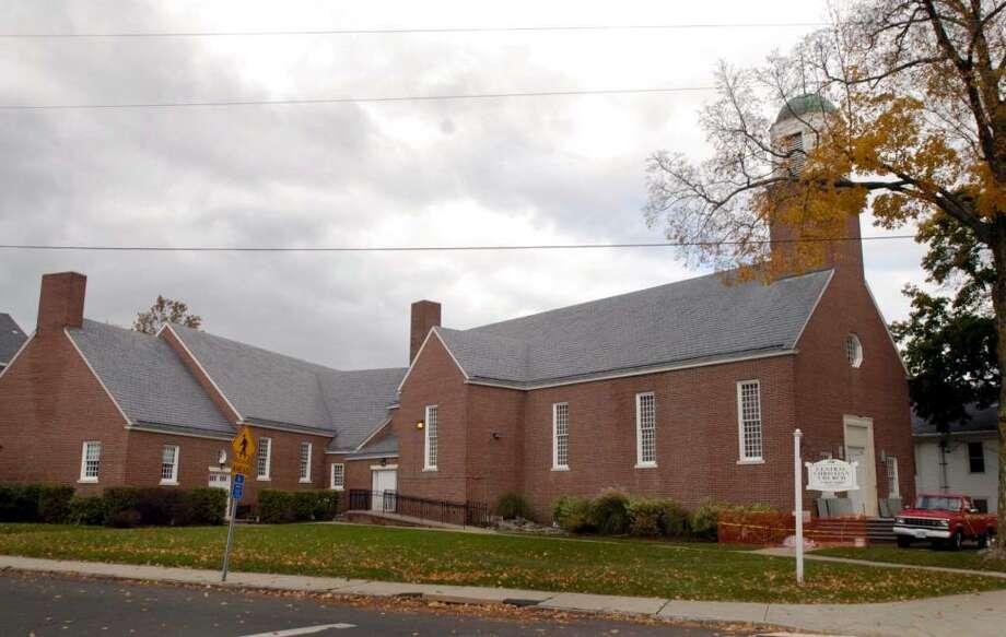 Central Christian Church , 71 West St, Danbury Ct. Photo: Carol Kaliff / The News-Times