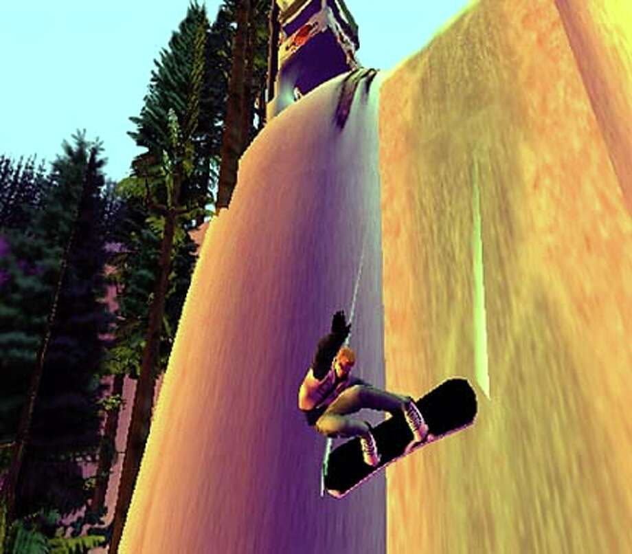 SSX, a snowboarding game by EA Sports, is the best of the first wave of releases, showing off the PlayStation 2's incredible speed and graphics capabilities.