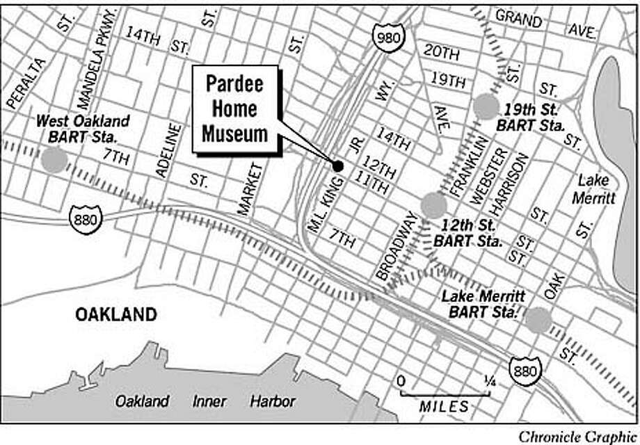 Pardee Home Museum. Chronicle Graphic