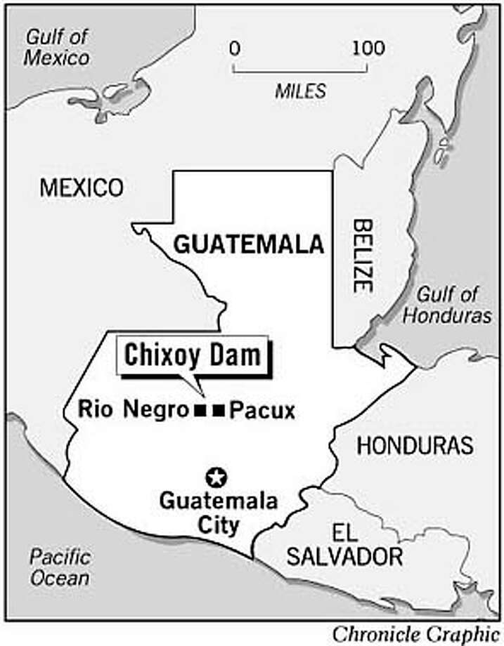 Chixoy Dam. Chronicle Graphic