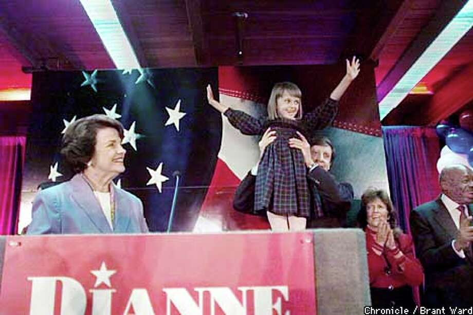 Feinstein Triumphs With Ease / Democrat coasts to win over ...